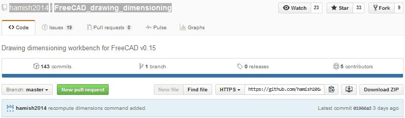 drawing dimensioningワークベンチを登録する